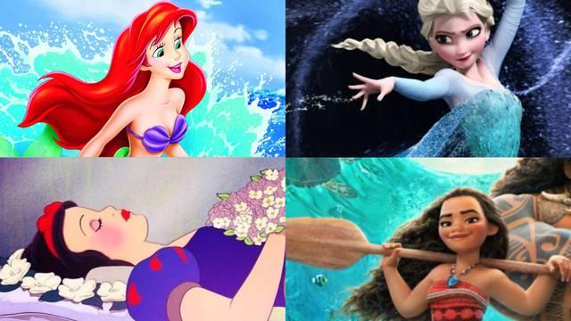 Elsa, Merida ili Ariela? Ove su princeze najbolji uzor curicama