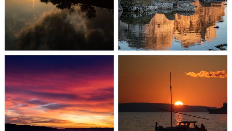 Oduzimaju dah: Prekrasne zore i zalasci sunca diljem Hrvatske