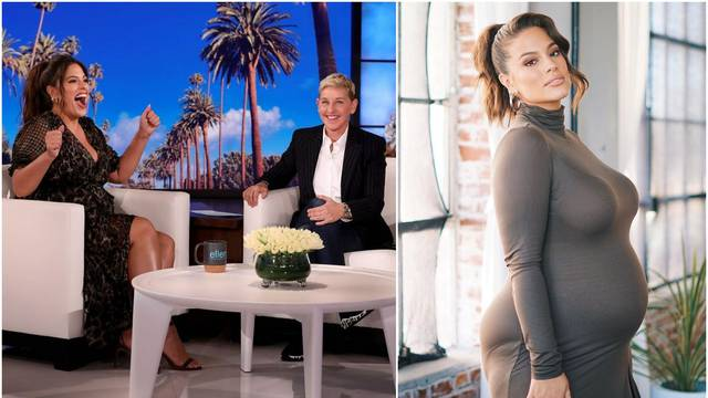 Ashley Graham izlanula se kod Ellen: 'Bit ću mama dječaku...'