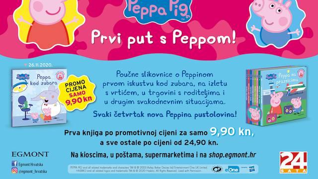 Zaboravite na strah od zubara uz poučne Peppa Pig slikovnice