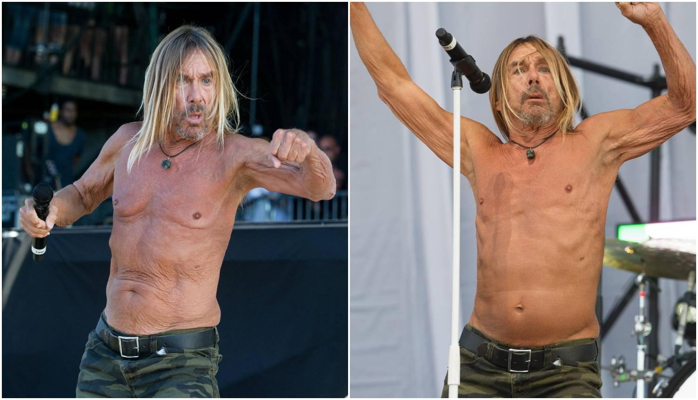 Proslavio 72. rođendan u svom stilu: Bez majice i na pozornici