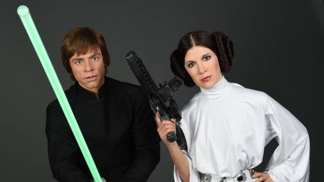 """dpa-Exclusive: Preparations for """"Star Wars at Madame Tussauds"""""""