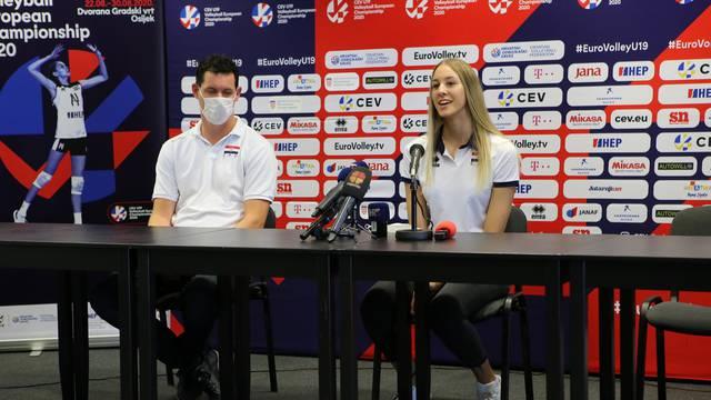 Mlade Hrvatice u prvom kolu EP-a igraju protiv Francuske