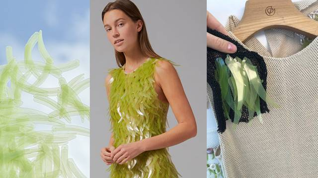Dizajner Philip Lim napravio je haljinu s aplikacijama od algi