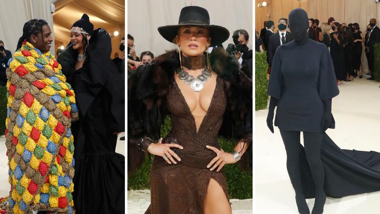 Kim stigla kao vanzemaljac, J.Lo kao kaubojka, a Rihanna i reper zaljubljeno pozirali ispod dekice