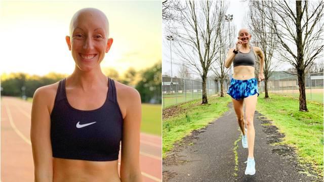 S dvije godine je izgubila kosu, a trčanje ju je 'vratilo' u život
