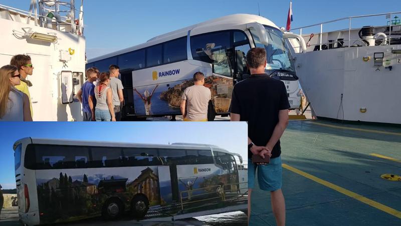 Poljski bus zapeo na ulazu u trajekt: 'Cijela paluba mu je pljeskala kad je konačno ušao'