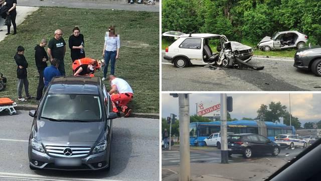 Crni dan na cestama: Dvoje je poginulo, biciklistica ozlijeđena