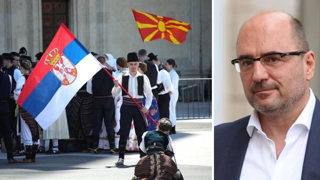 Brkić o kolu i zastavi Srbije: 'Trpimo previše toga što nas odvaja od Crkve i domovine'