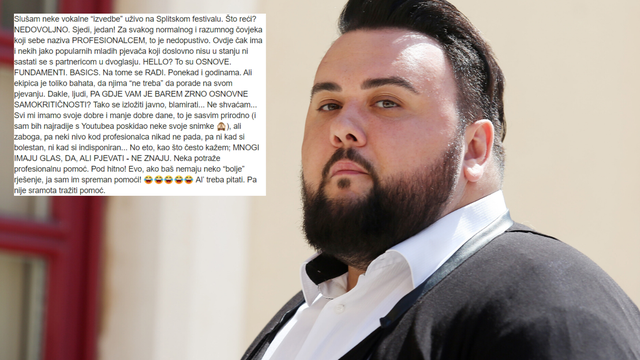 Houdek 'opleo' po kolegama: 'Blamiraju se, ne znaju pjevati'