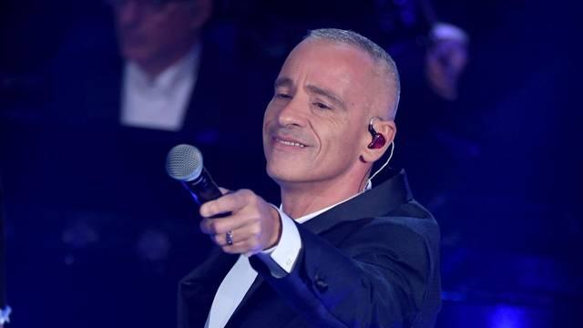 Sanremo, 69th Festival of Italian song 2019. Final evening. Eros Ramazzotti