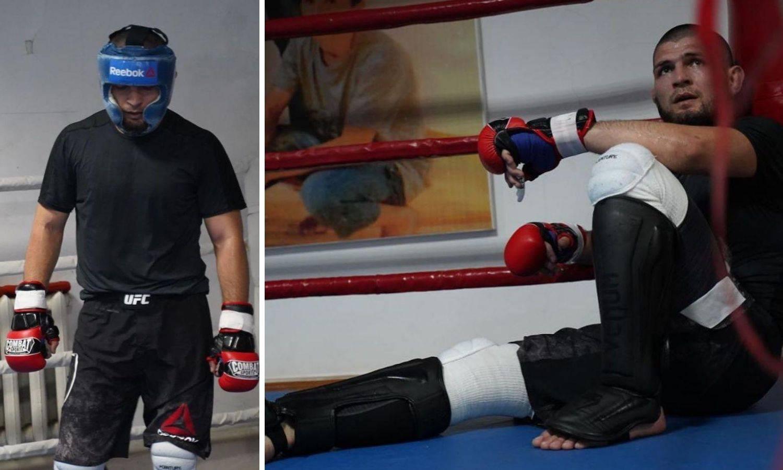 Khabib se vratio! Dagestanac na prvom treningu nakon smrti oca