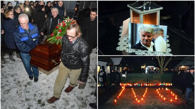 Ivo Gregurević zadnji puta u svojoj kući: Tisuće ljudi plakalo