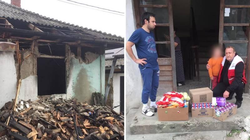 Tuga u Jajcu nakon smrti curice: 'Supruga je kroz plamen htjela do nje, ostali smo bez ičega'