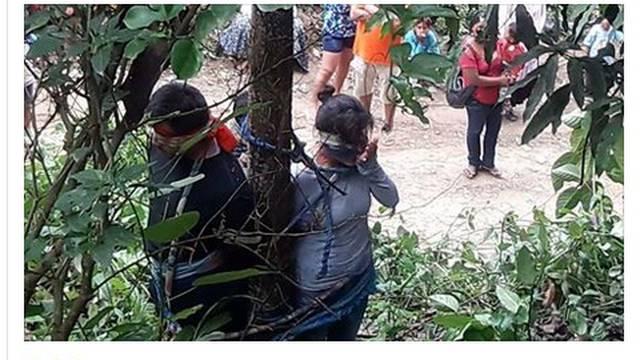 Šokantno: Ženu  su zavezali za stablo, mravi je koštali života