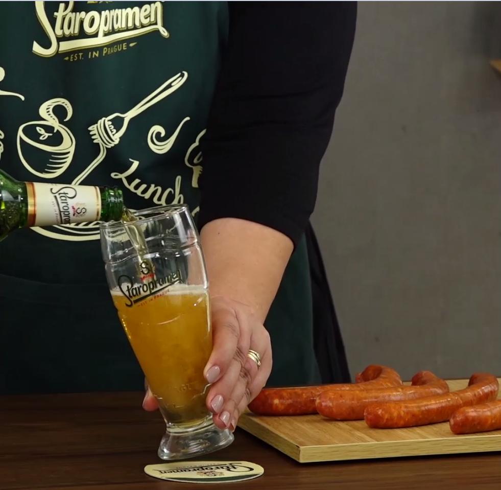 Kobasice od divljači s povrćem i pivom