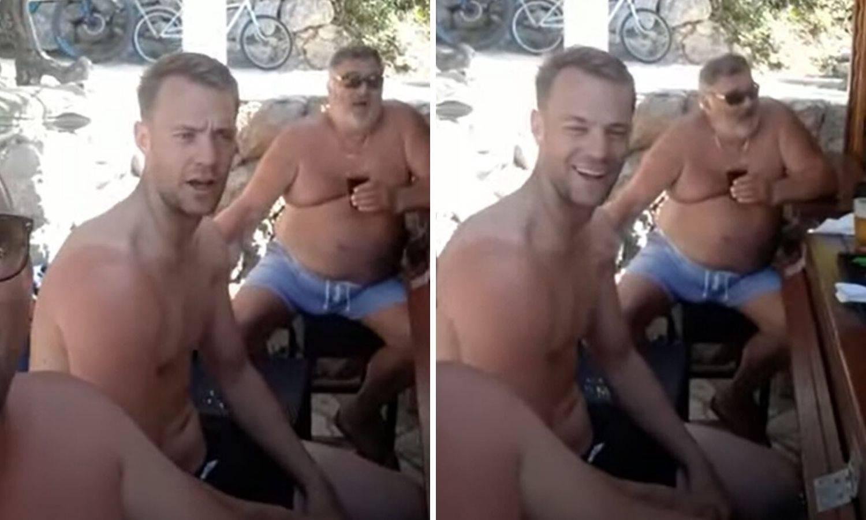 Neuer nastavlja oduševljavati, opet pjeva: 'Nek ti kušin bude stina, ali Hrvatsku sine voli...'