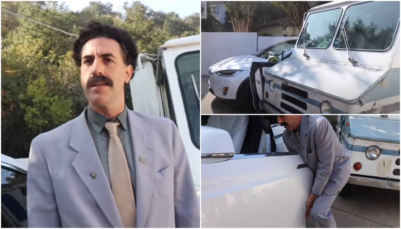 Borat je YouTuberu razbio auto od  960.000 kn, a Trump ga je izvrijeđao: 'Za mene je nakaza'