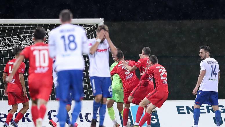 Gdje si bio - nigdje, što si radio  - ništa. Klasičan Hajdukov poraz!