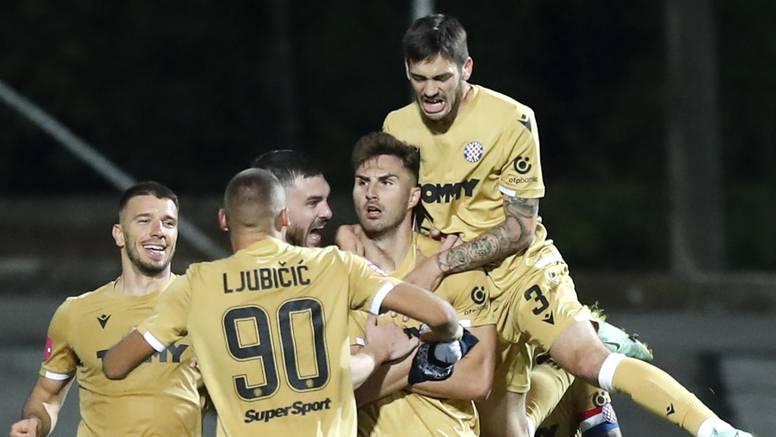 Hajduk je prvi na tablici. Prvi put u gotovo dvije godine!