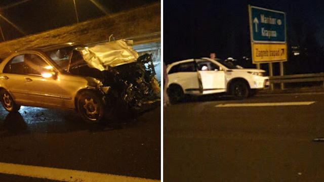 Pijan skrivio sudar u Zagrebu: Drugi vozač je teško ozlijeđen