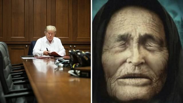Vanga predvidjela da će Trump oboljeti od 'misteriozne' bolesti