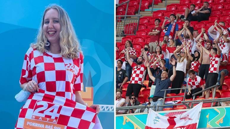 Kako je Wembley odjekivao od glasova i pljeska naših navijača