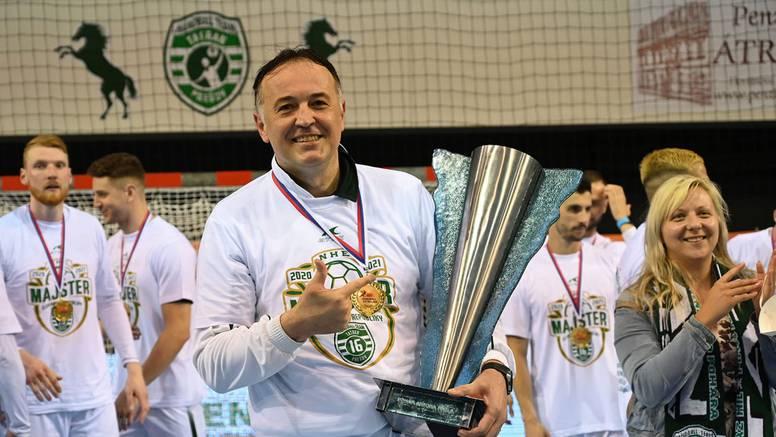 Goluža najbolji trener slovačke lige: Reprezentacija? Nisam htio govoriti da me ne tumače krivo