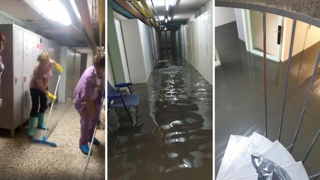 Uživo: Potop u Klaićevoj bolnici, materijalna šteta je velika