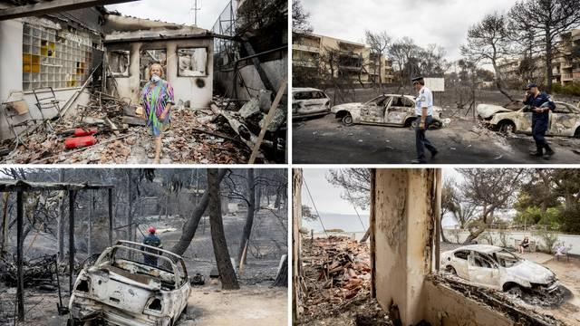 Slike katastrofe: Ovako danas izgleda ljetovalište kraj Atene