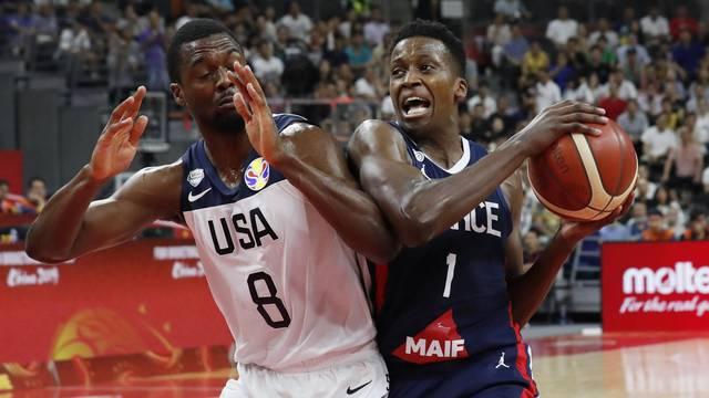 Basketball - FIBA World Cup - Quarter Finals - United States v France