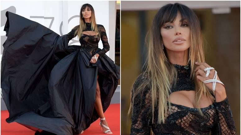 Rumunjska ljepotica pokorila je crveni tepih u Veneciji, a zatim doživjela nezgodu na pozornici