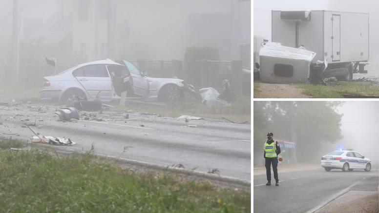 Jedan mrtav, dvoje ozlijeđenih u teškoj nesreći kod Dugog Sela