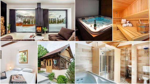 Luksuz na hrvatski način: Kuće za odmor s jacuzzijem i saunom