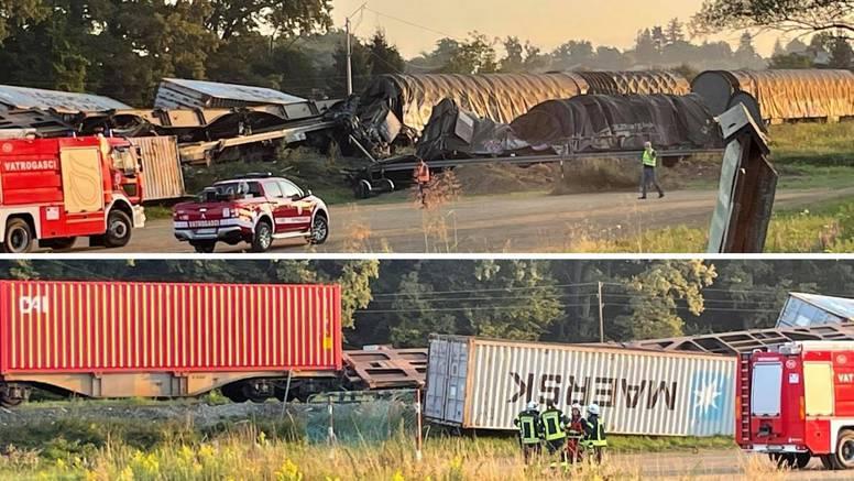 Vlakovi su se sudarili u blizini Križevaca, ozlijeđen strojovođa