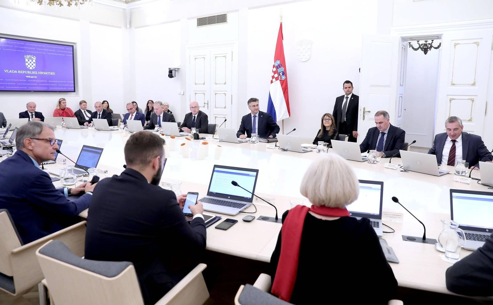 Zagreb: Rasprava Vlade o izvršenju Državnog proračuna Republike Hrvatske