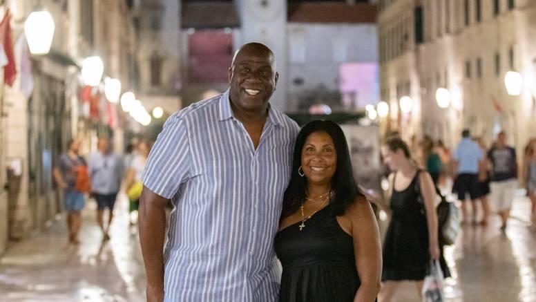 Magic Johnson i ove godine je posjetio Dubrovnik i Stradun