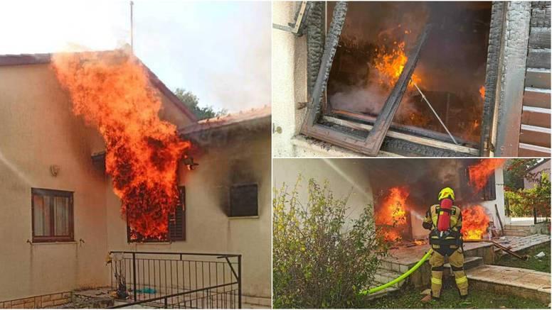 Nezadovoljni podstanar zapalio kuću u Rovinju: Buktinja je u potpunosti uništila apartman!