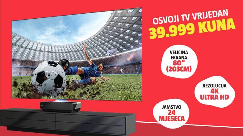 Aktiviraj PLUS+ pristup i osvoji TV vrijedan 39.999 kuna