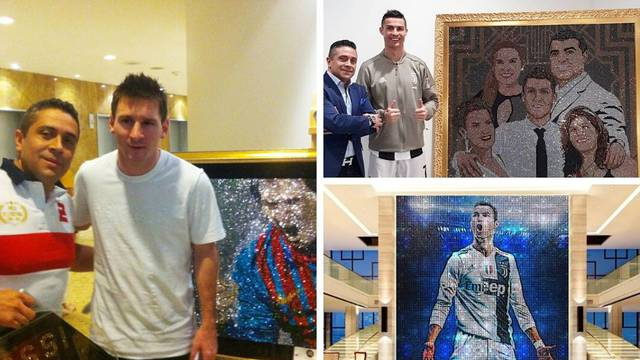 Messiju dao kristalni portret vrijedan više od 35 milijuna €