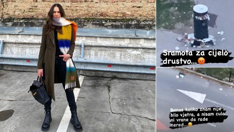 Ljuta Ljupka objavila fotografije smeća u parkiću uz njezin dom: 'To je sramota za cijelo društvo'
