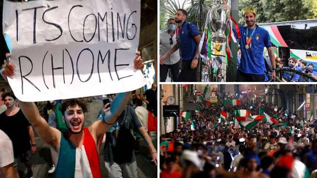 Italija u euforiji dočekala jutro i junake! Škoti se naslađivali i slavili zajedno s Talijanima