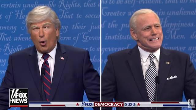 Alec Baldwin u parodiji igrao Trumpa, Jim Carrey kao Biden