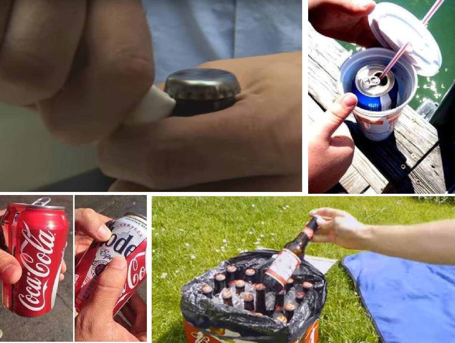Trikovi: Otvorite pivo papirom, napravite vlastiti hladnjak...