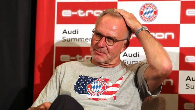 firo: 23.07.2019 Fuvuball, Soccer: 1st Bundesliga, Audi Summer Tour USA AC Milan, test match, test, friendly match versus FC Bayern Mvºnchen, Audi Summer Tour USA 2019, International Champions Cup