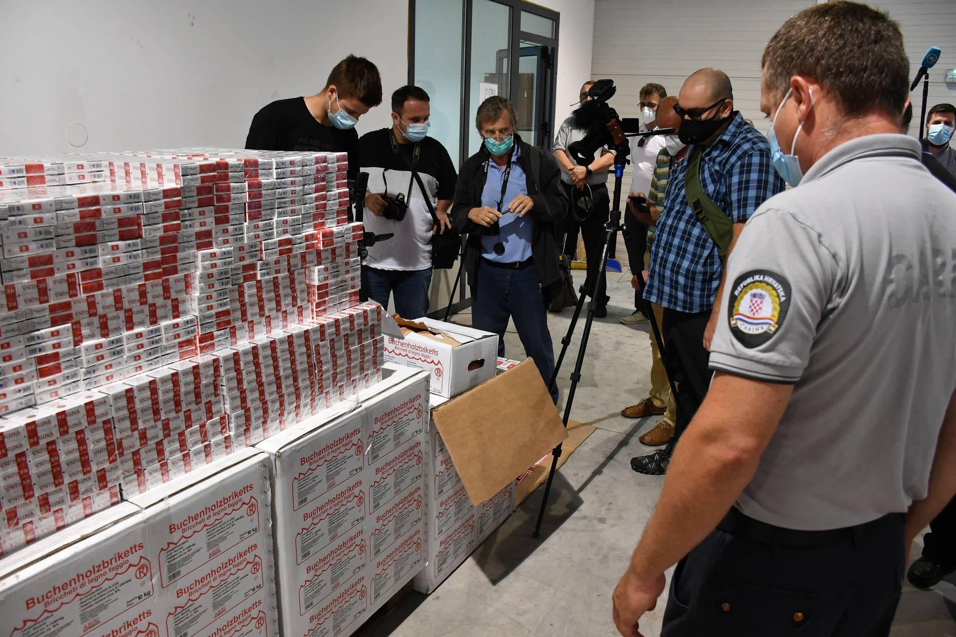 Stara Gradiška: Zaplijenili 3,2 milijuna kuna vrijednu pošiljku