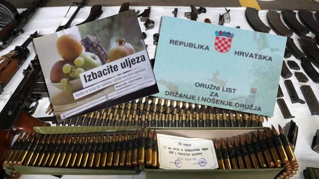 Hrvati od 2007. policiji predali impresivan arsenal oružja, ali koliko je njih to 'zaboravilo'?