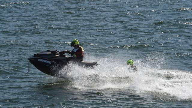 Lifeguards at the Baltic Sea