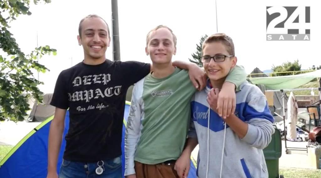 Priča o tri brata: Bez roditelja napustili Siriju, žele bolji život