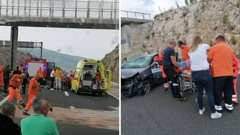 Autom izletio  s autoceste blizu Masleničkog mosta i ozlijedio se